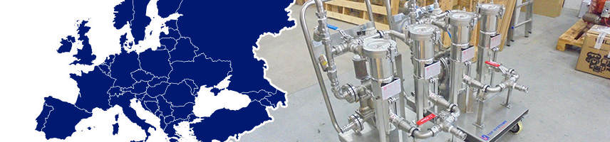 TDF Systems' pumping and filtration skid